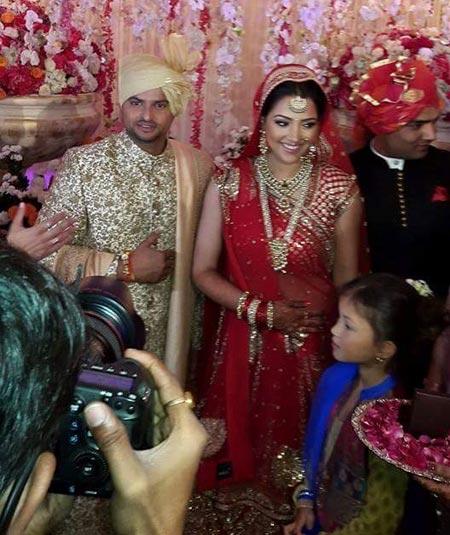 suresh raina wedding photos