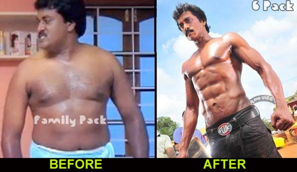 Sunil body, hero Sunil body, hero sunil poola rangadu, hero sunil body poola rangadu