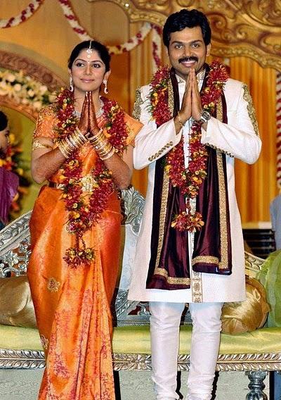Tamil Actor Karthi Rajini Marriage