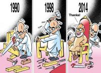 Advani's hardwork Modi enjoying
