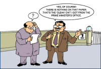 Clean Political Chits