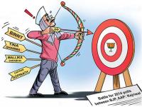 polls between AAP BJP