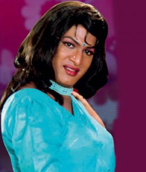 Rajendra Prasad In Lady Getup Comedy Scenes