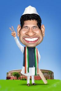 Sachin as MP