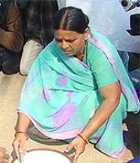 Rabri Devi went to heaven