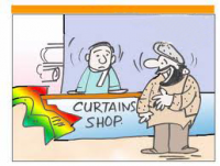 Santa wants to buy Curtain