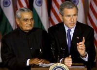 Vajpayee and Bush