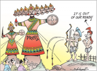 Vijayadashmi Not  Prices vs People on Dusshera