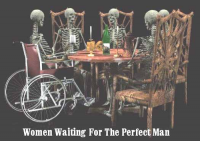 Women Waiting  for the Perfect Men