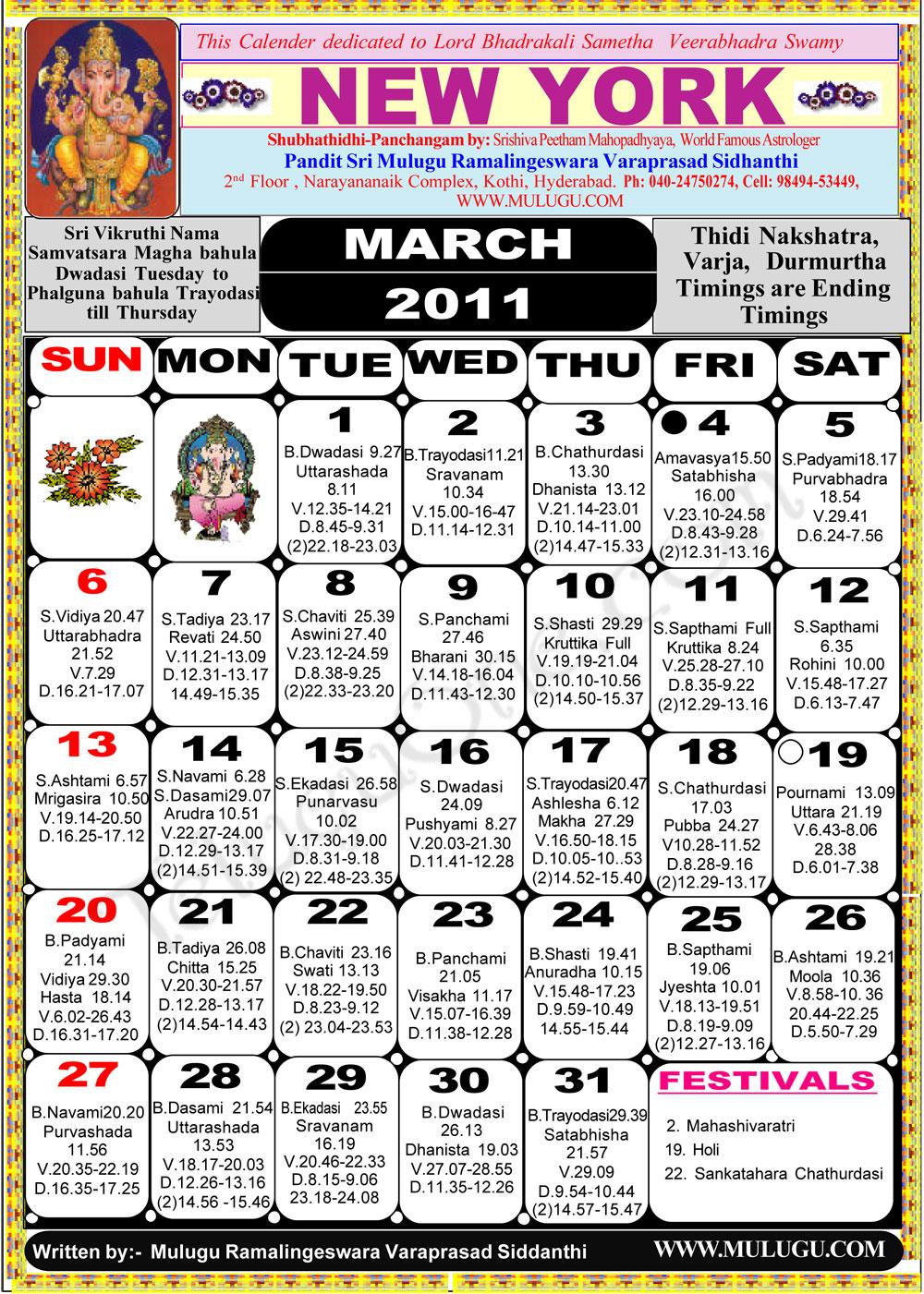 May Calendar New York : New york telugu calendar astrology online