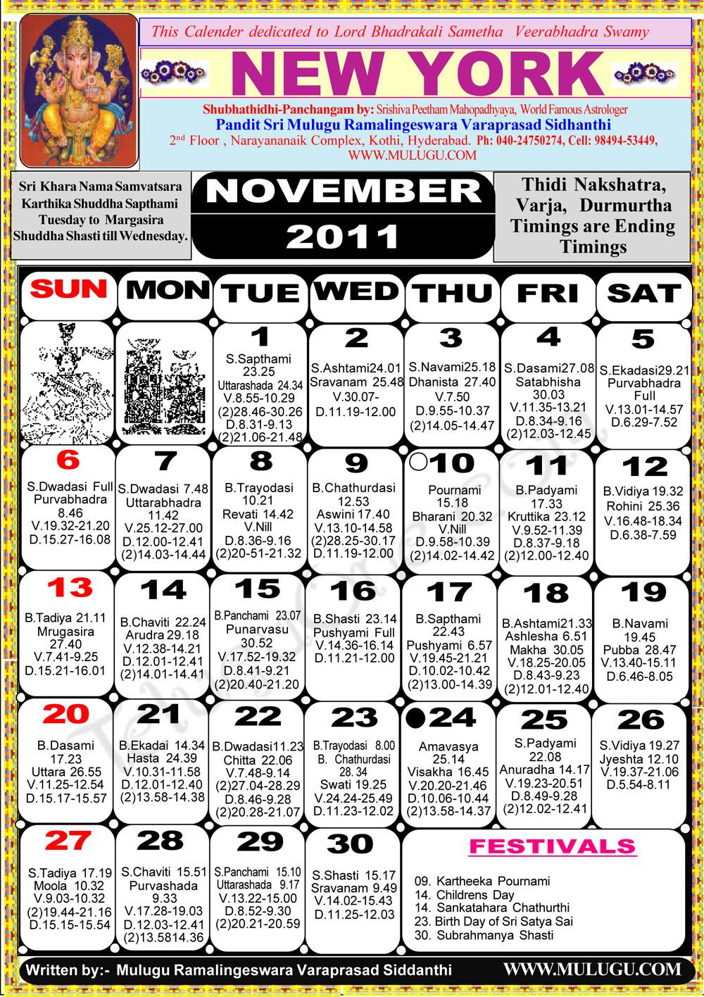 Calendar New York April : New york telugu calendar astrology online