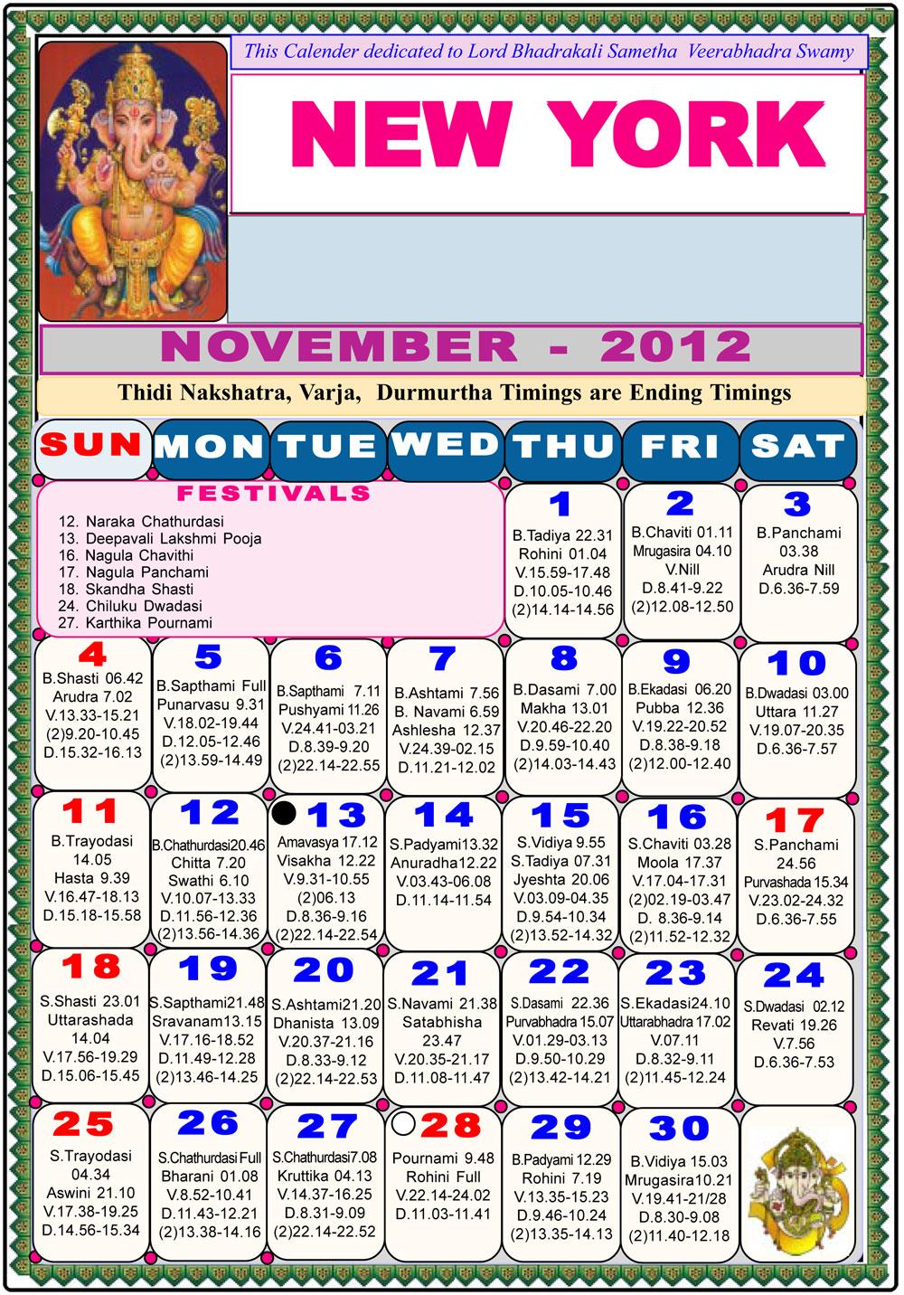 Calendar New York April : New york telugu calendar astrology online horoscope
