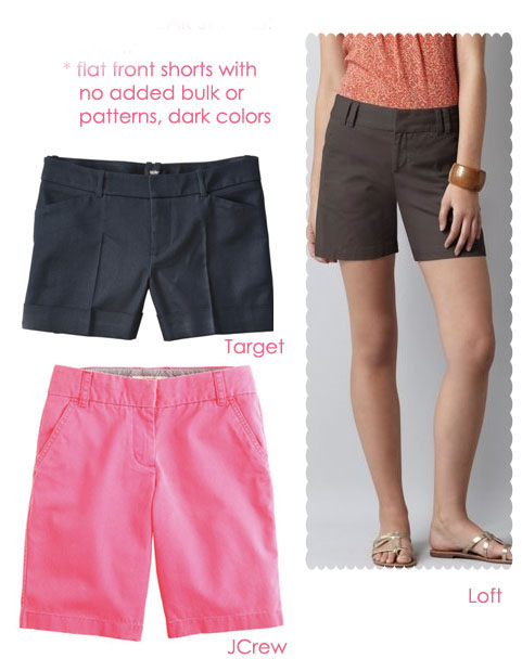 a1bc243cc1 If you tend to avoid shorts because you can t find any that look good on your  body type.   A style ...