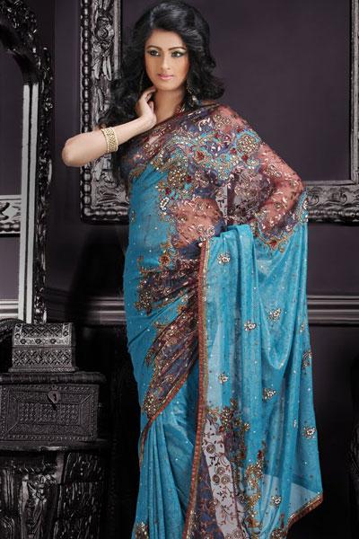 Goergous Gehna sarees collection | bridal lehenga choli | saree ...