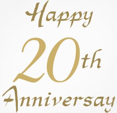 Celebrating Twentieth Anniversary   Wedding Anniversary ...
