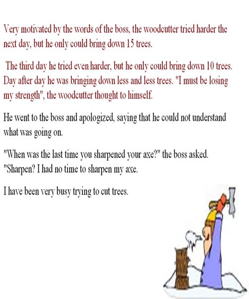 Woodcutter Story | Funny Woodcutter Jokes | Funny Woodcutter stories