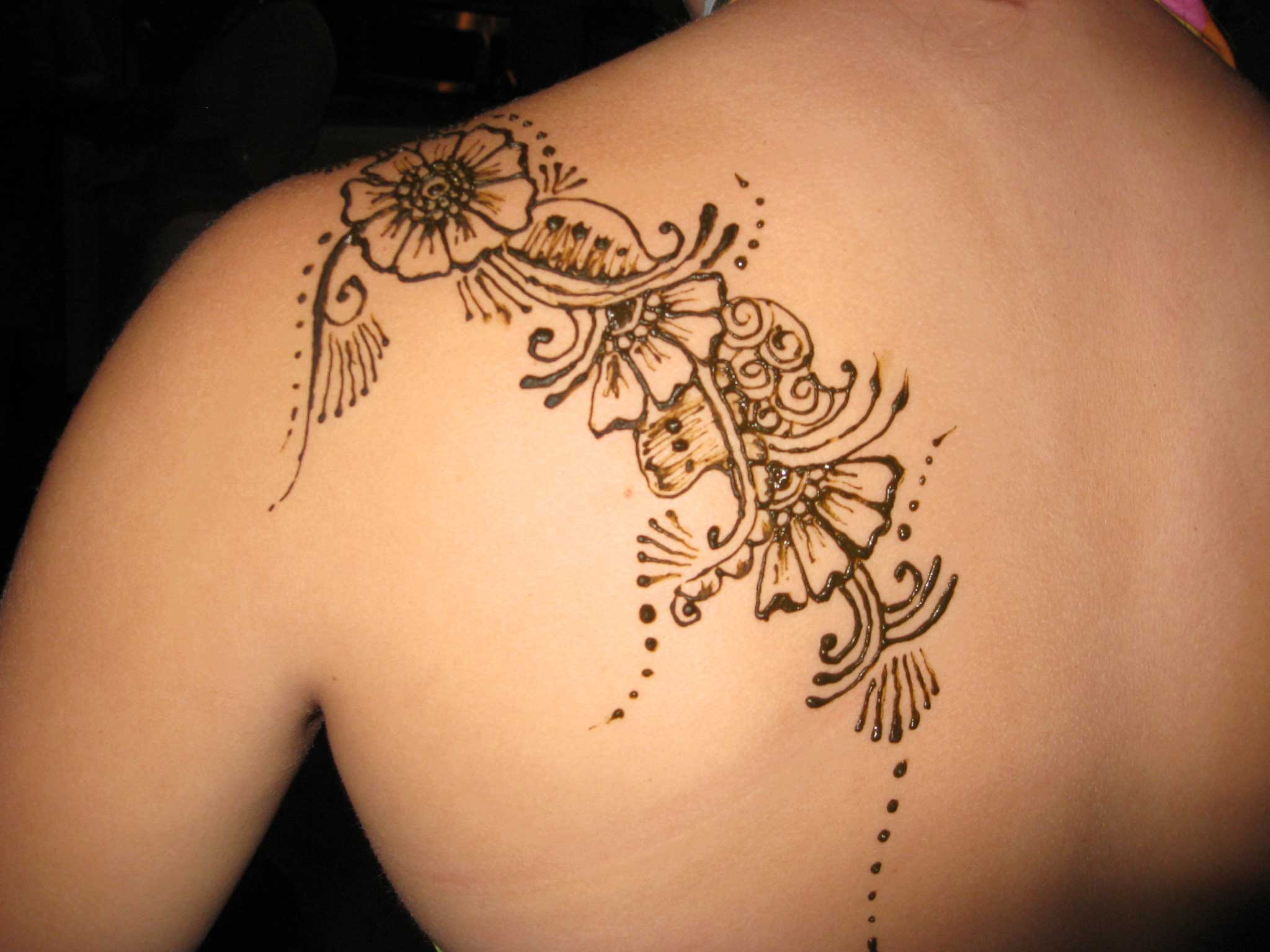 Tattoos Henna For Body: Henna Body Painting