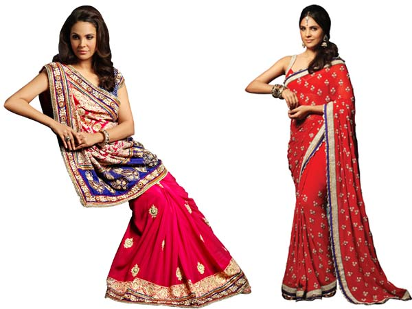 Wearing Fluttering Silk Sarees And Pretty Lehenga Cholis Moreover As Diwali Is The Festival Of Lights Glam Quotient Clothes Very High