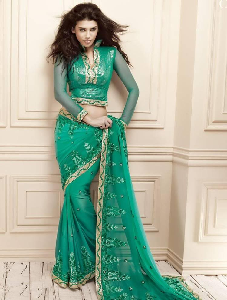 Indian party wear fancy saree collection party wear sarees