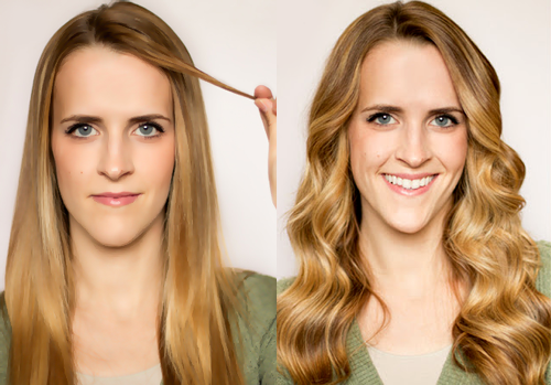 Making Straight Hair Curly | Getting Straight Hair Curly | How to Make Straight Hair Curly ...
