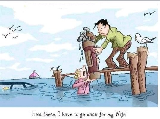 Husband and Wife | funny wife and husband cartoons | wife and husband ...