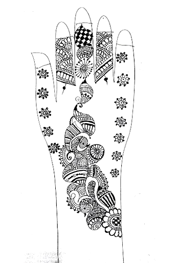 Latest Mehandi Designs Awesome