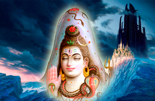 Dhyana Slokams for different Gods: Sri Rudra Pancha Mukha Dhyana Slokas and meaning in telugu