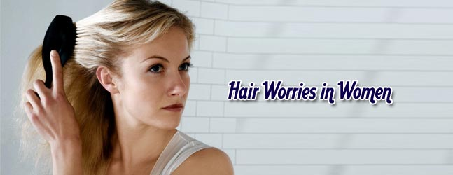 Hair Worries in Women