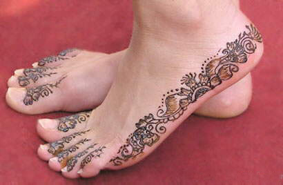 Bridal Mehndi Feet Images : Latest indian bridal mehndi designs for you