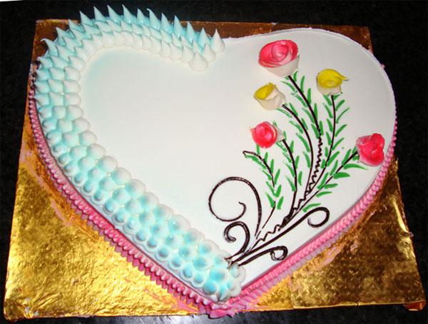 Vijayawada Special Cakes Butter Cream Cakes Love Cake