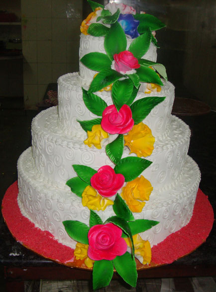 -Cakes  Butter-Cream-Cakes  Step-Cake  Gift-This-(8kg)4-Teir-Cake ...