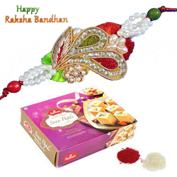 Rakhi Special Gifts Rakhi Combos Soan Papdi Rakhi