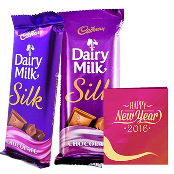 Beauty Sweetness This Delightful Hamper Includes 4 Dairy Milk Silk