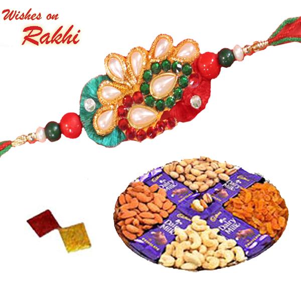 Rakhi Special Gifts Rakhi Combos Rakhi Combo 6