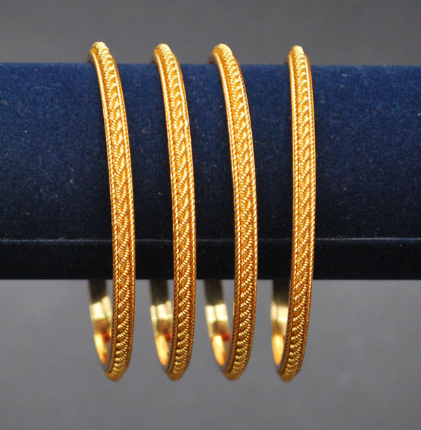 One Gram Jewellery Bangels Bangles 20 Four Gold Bangles