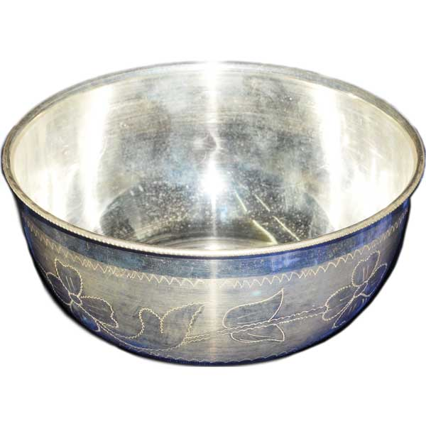Silver Store Pooja Items Bowl 150 Grams Bowl 150