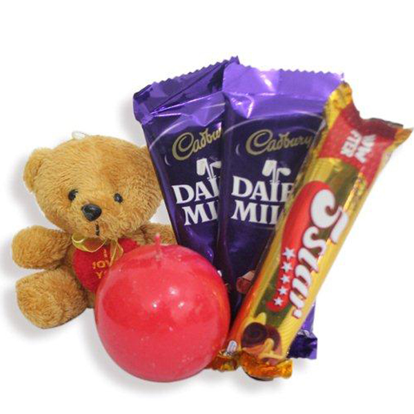 Gift Chocolate N Candle This Excellent Combo Includes 2