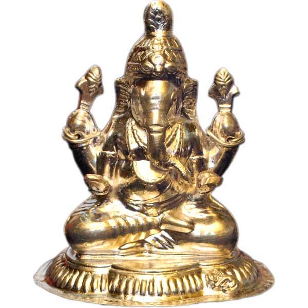 Silver Store Pooja Items Ganesh 15 Grams Ganesh 15