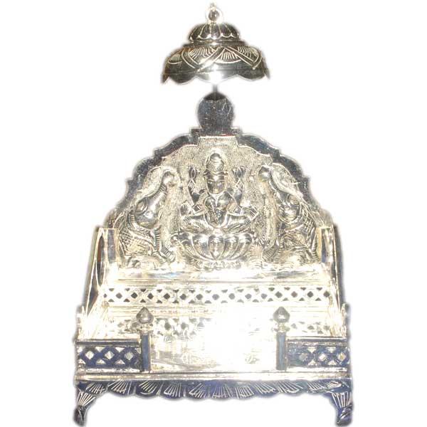 Silver Store Pooja Items Simhasanam 500 Grams