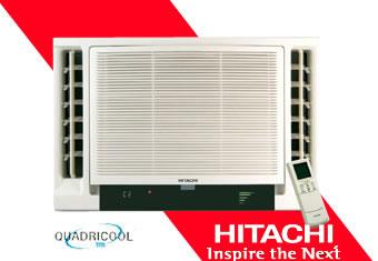 1 5tr Hitachi Window Ac Quadricool Tm Rav019eod 1 5tr