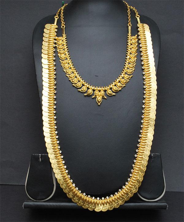 One Gram Jewellery Necklace Sets Kasulaperu Long
