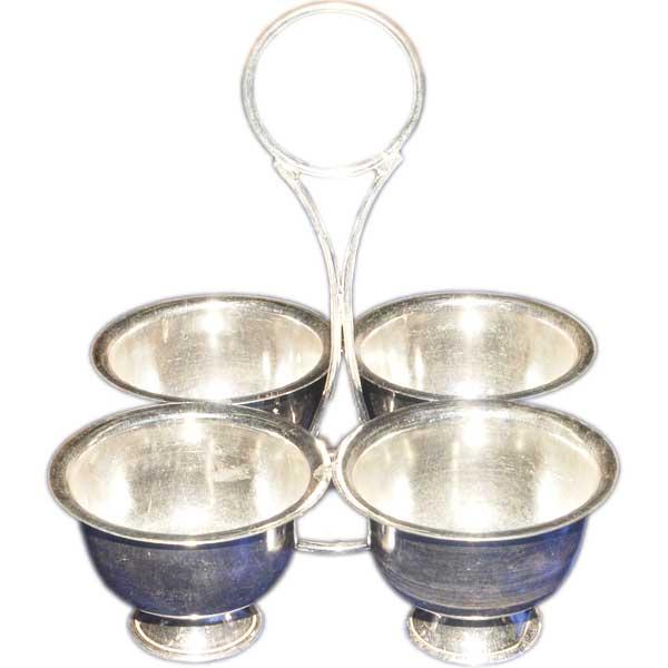 Silver Store Pooja Items Kuk Kum Stand 100 Grams Kuk