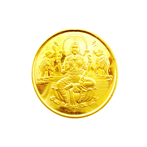 Laxmi Gold Coin Laxmi Gold Coin Welcome Goddess Laxmi