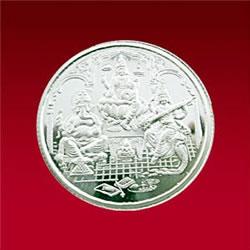 Silver Store Silver Coins Lakshmi Ganesh Saraswathi