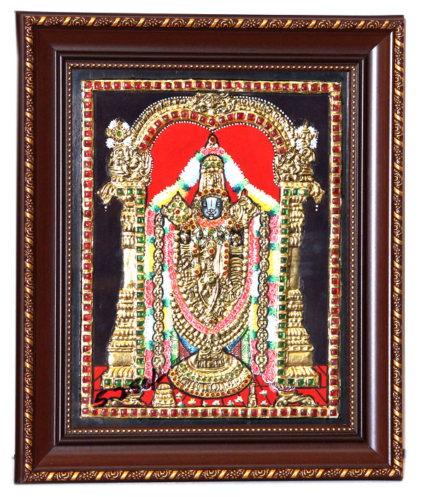 Sri-Venkateswara-Swamy | Get-a--Grand-Look-by-Decorating-your-walls
