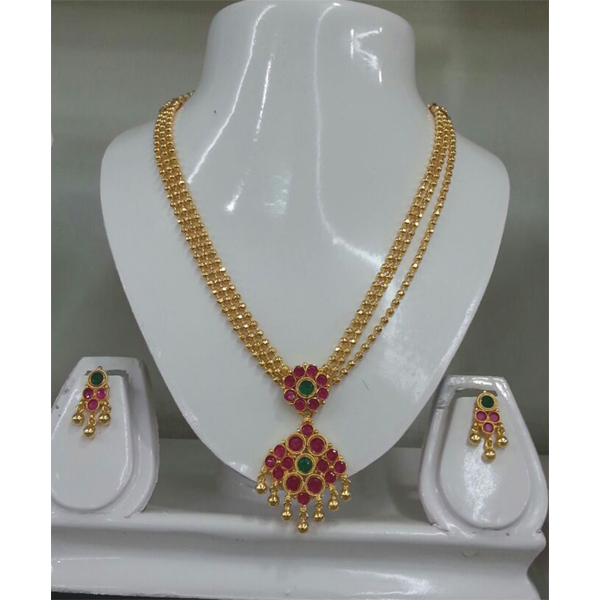 One Gram Jewellery For Usa Necklace Sets For Us Gold