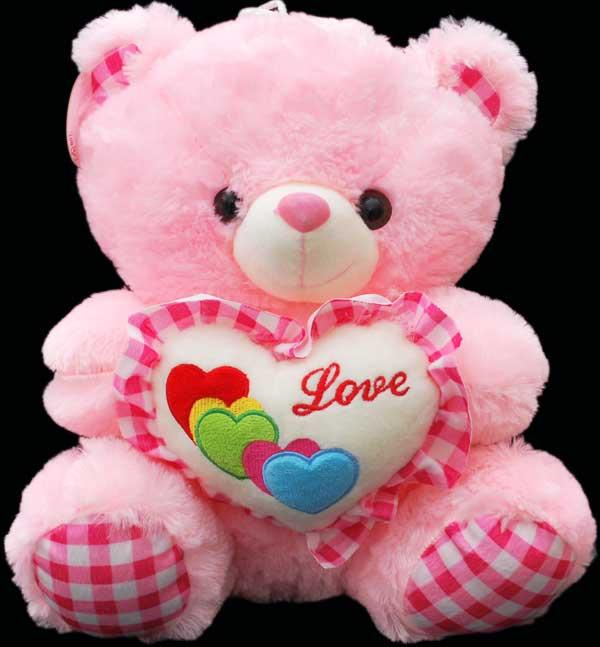 Stuff-Toys | Teddy-Bears | Pinky-teddy | A-Cute-and-lovely ...