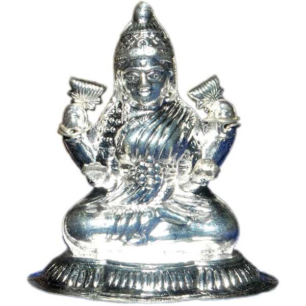 Silver Store Pooja Items Lakshmi Devi 35 Grams
