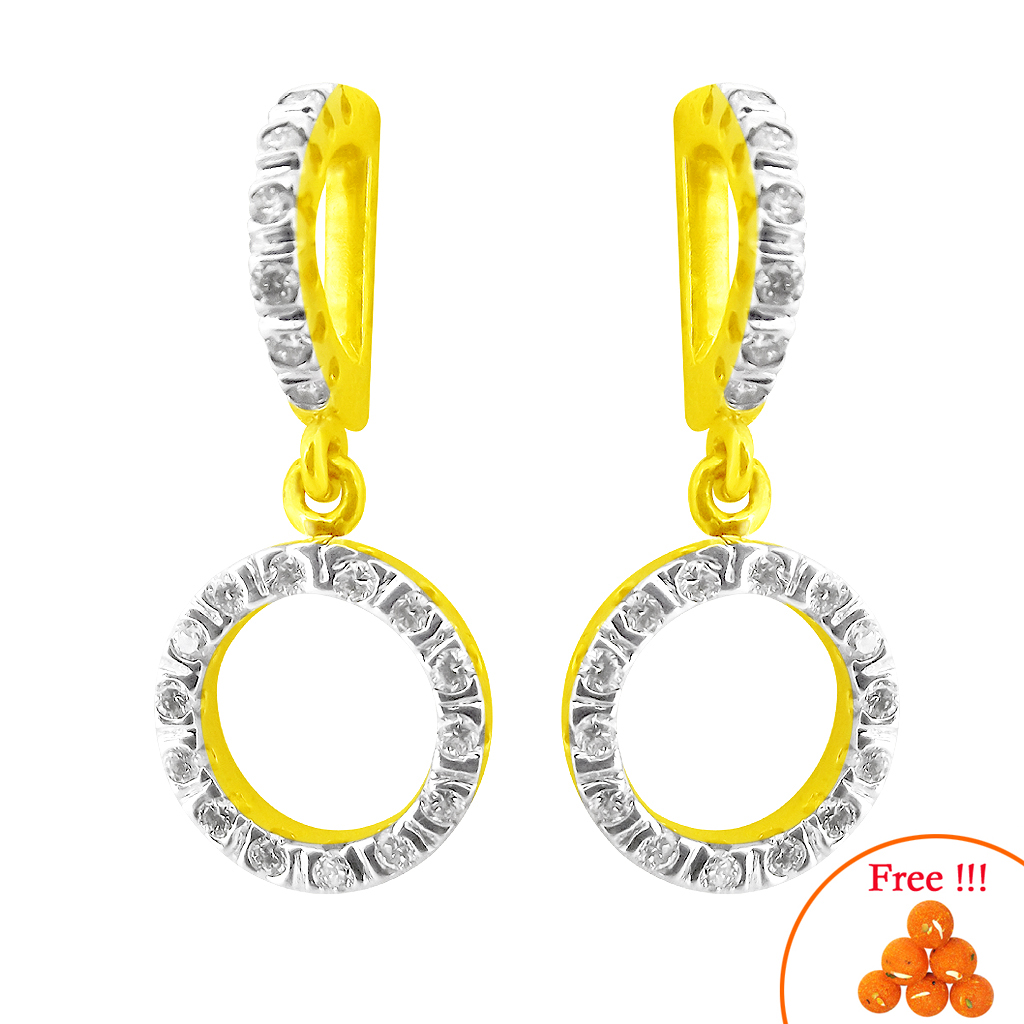 Fawning Diamond Earrings-jsep-066c