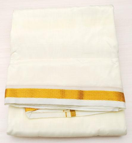 Apparel For Men Dhoti Sets Dhoti 8 Pure Pattu Dhoti